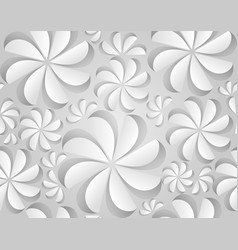 seamless texture with paper flowers vector image vector image