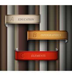 Education banner vector image vector image