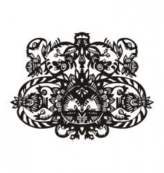 plant decorative pattern vector image