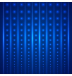 Abstract bright blue geometric background vector