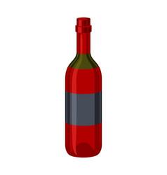 classic bottle wine vector image