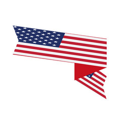 flag of united states vector image