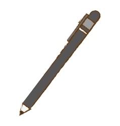 Single pen icon image vector