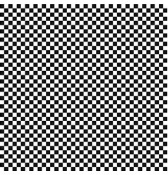 the black and white squares in a checkerboard vector image