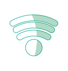 Wifi internet zone vector