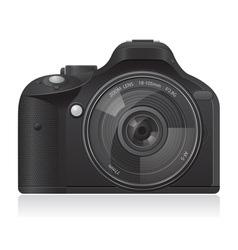photo camera 01 vector image vector image