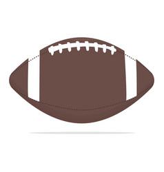 American football ball icon sport vector