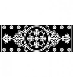 Art Nouveau ornament vector image