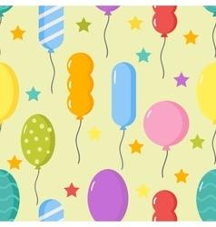 Balloon pattern vector