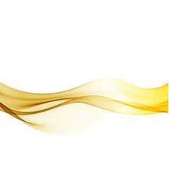 beautiful gold satin template brochure vector image