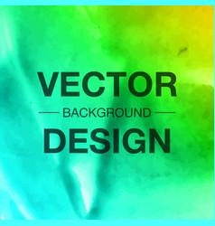 creative watercolor splash background vector image