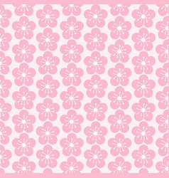 pattern flower background vector image