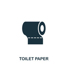 toilet paper icon premium style design from vector image
