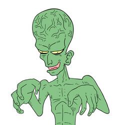 Ugly alien vector