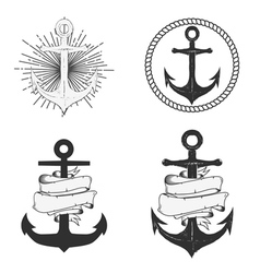 anchors vector image