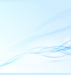 blue abstract modern futuristic speed waves vector image