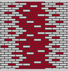 Background of bricks vector