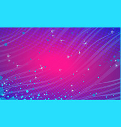 Blue magenta snow festive abstract background vector