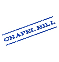 Chapel Hill Watermark Stamp vector
