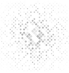 Grey square pattern background vector