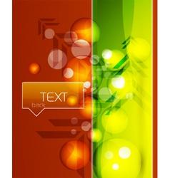 modern template vector image