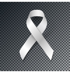 White Ribbon Alliance for Safe Motherhood vector image