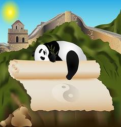 china card vector image vector image