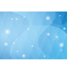 light blue background with wavy abstractions vector image vector image
