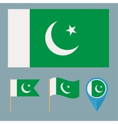 Pakistancountry flag vector image