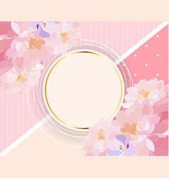 abstract background card template for vector image