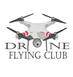 drone logos badges emblems and design elements vector image