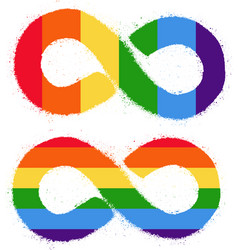 lgbt rights symbol gay parade sign vector image