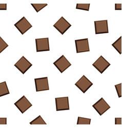 milk chocolate bar seamless pattern vector image