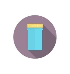 Pill bottle for capsules vector image