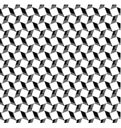 squares seamlessly repeatable pattern in black vector image