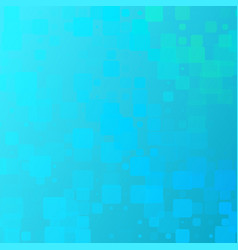 Turquoise blue yellow glowing rounded tiles vector
