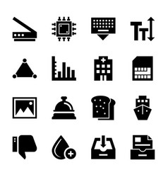 User interface pack of vector