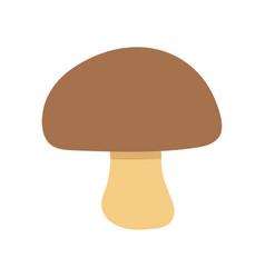 white mushroom a mushroom vector image