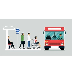 Disabled bus vector