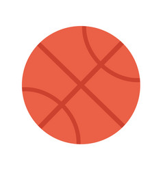 basketball ball sports equipment vector image