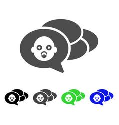 baby dreams flat icon vector image