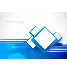 Blue soft background vector image vector image