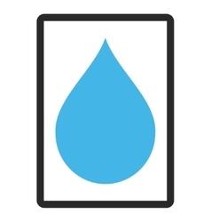 Drop Framed Icon vector
