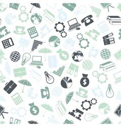 Economy seamless pattern vector