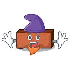 Elf brick character cartoon style vector