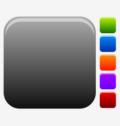 Empty square button or icon backgrounds for vector