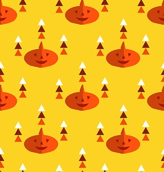 Halloween pattern24 vector image