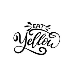 hand drawn lettering template for smoothie menu vector image