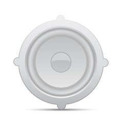 Icon loudspeaker Audio loud speaker vector image