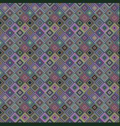 repeating diagonal square mosaic pattern vector image